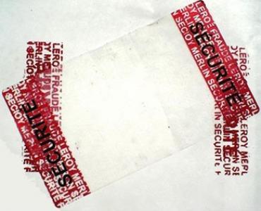 Etiquette de sécurité VOID, garantie de fermeture carton, intégrité d'emballage